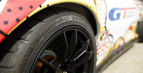 The Champiro SX2 is an Extreme Performance Summer tyre developed for enthusiasts who want higher levels of traction, response and driving control in dry and wet conditions.